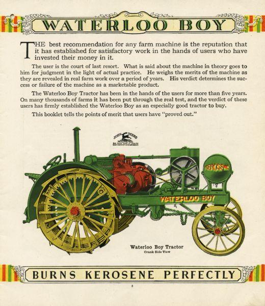 Kerosene Tractor