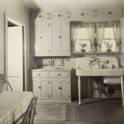 Kitchen Island Chairs With Backs Table And Chair Sets Kohler Demonstration Home, 1928-kitchen | Photograph ...
