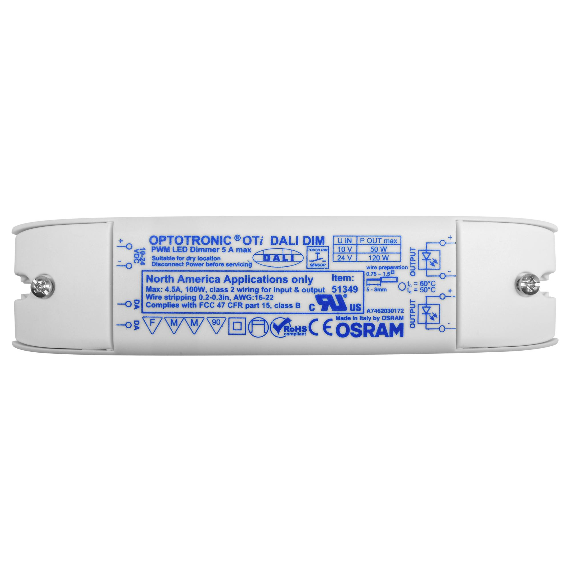 hight resolution of optotronic oti dali dimmable driver constant voltage