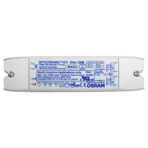small resolution of optotronic oti dali dimmable driver constant voltage