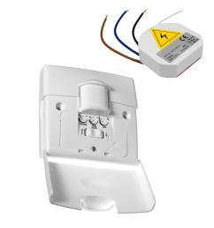 wireless 180 motion sensor pir light switch 240v [ 1782 x 1806 Pixel ]