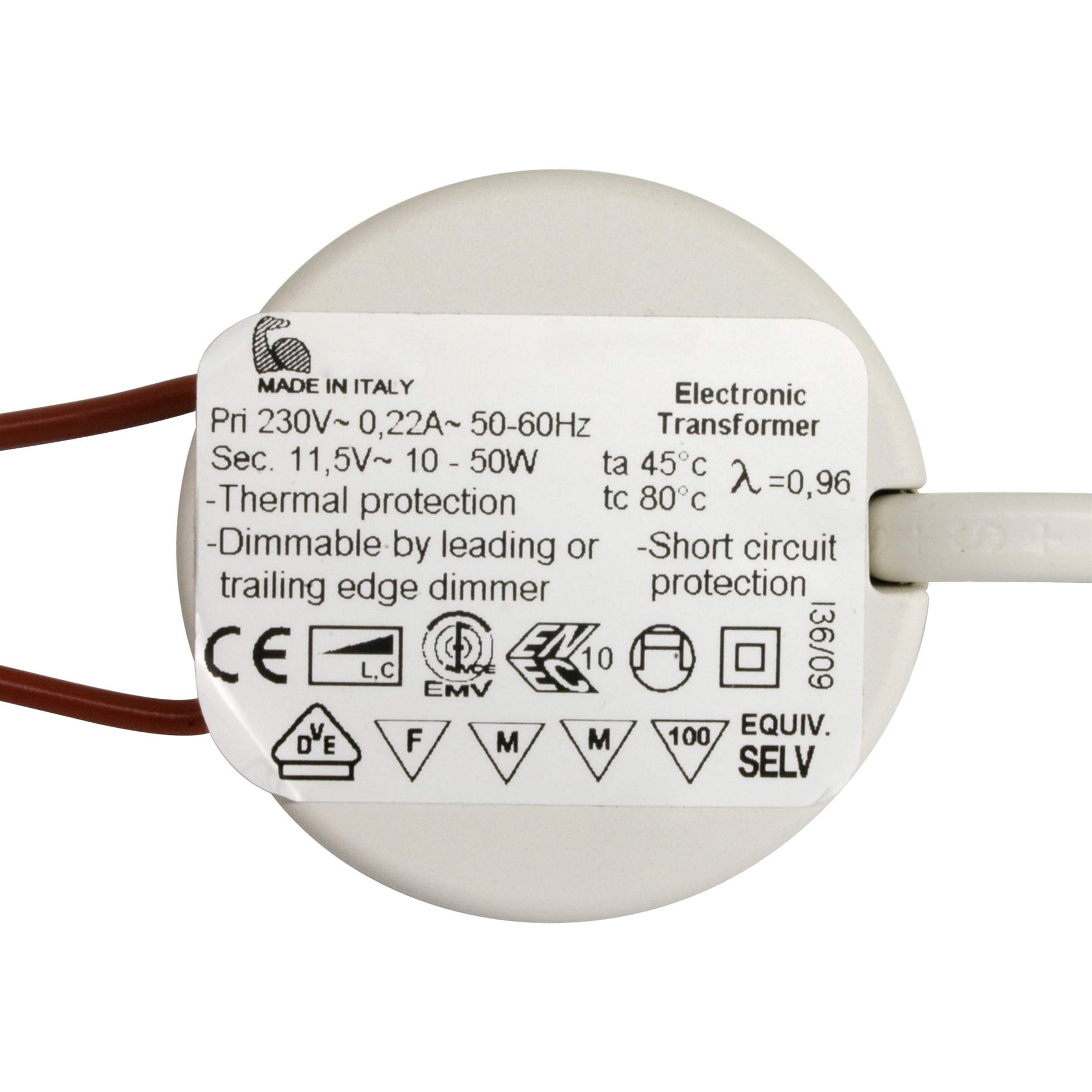 hight resolution of electronic dimmable transformer