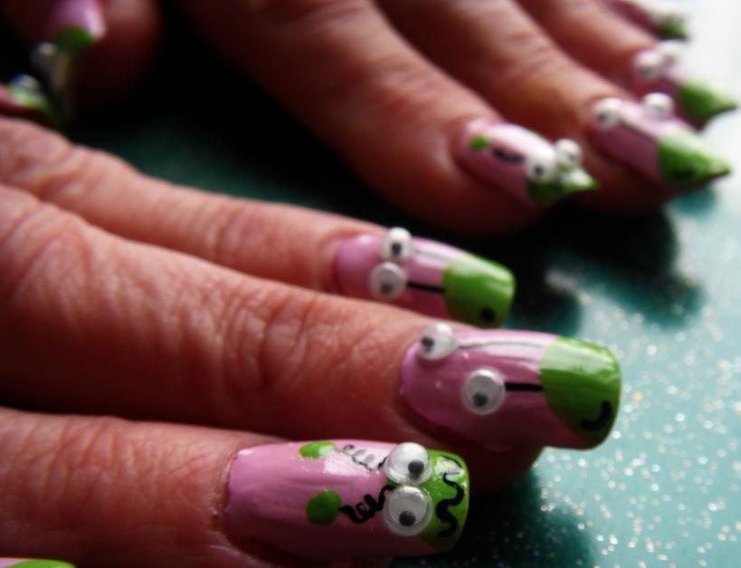 Some People May Choose To Add 3d Nail Art Their Fingernails For Decorative Purposes