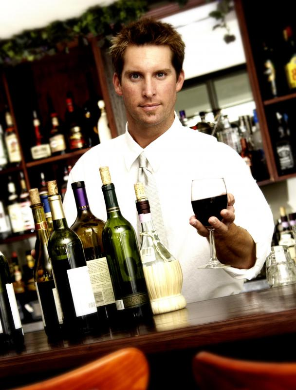 What Does A Bar Attendant Do With Pictures