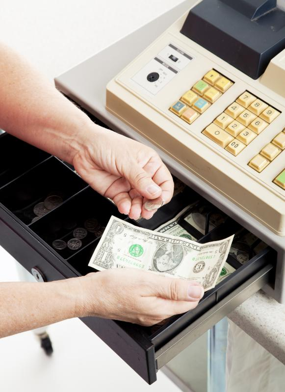 skills as a cashier