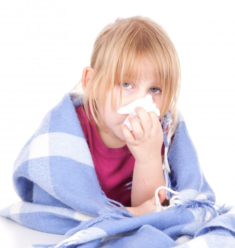 What are the Signs of Influenza in Children? (with pictures)