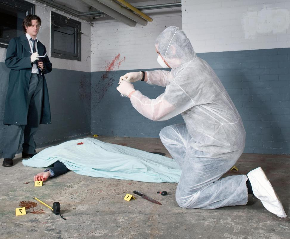 What is Crime Scene Analysis with pictures