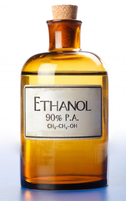 What is Ethanol Alcohol? (with pictures)