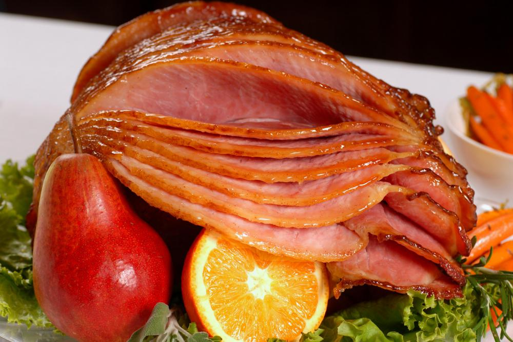 What is Boneless Ham with picture
