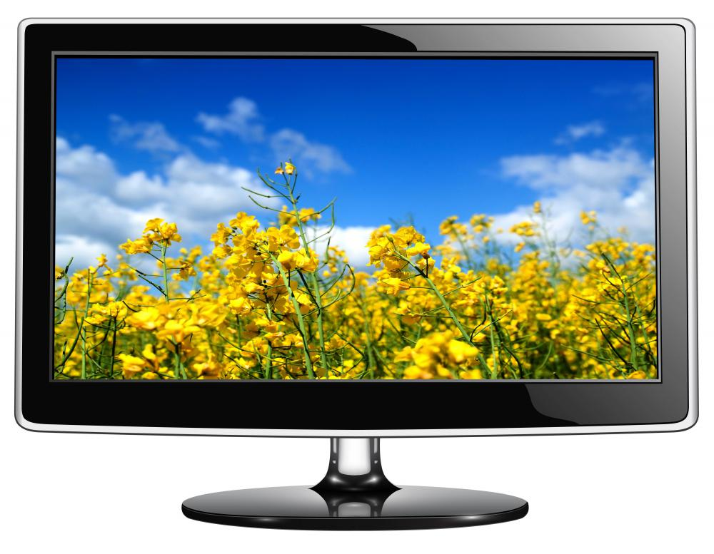 What is a Flat Screen Television with pictures