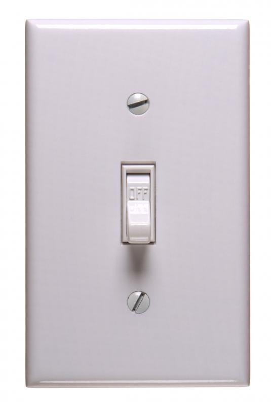 What is a Switch Plate with picture