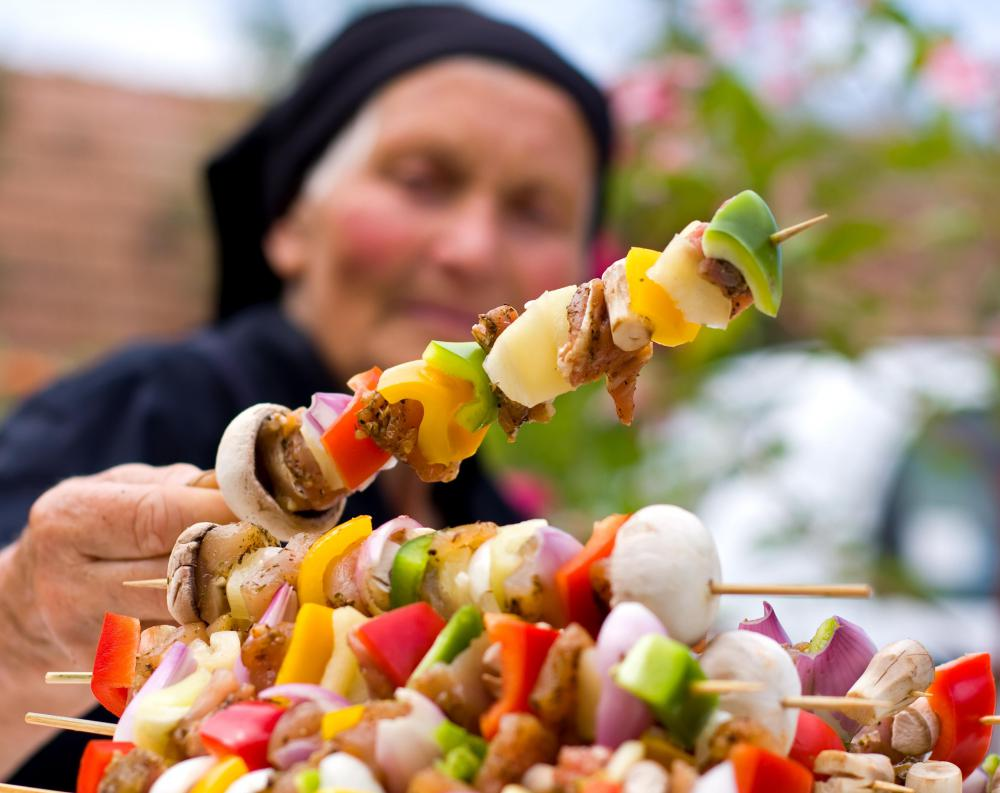 What Are the Different Types of Kabob Skewers with pictures