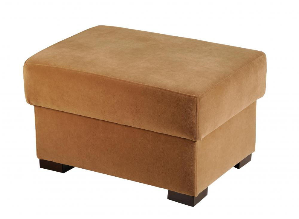 an ottoman footstool and hassock