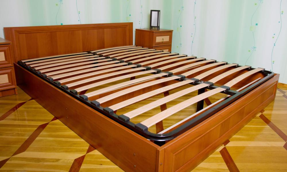 What Is A Slat Bed Frame With Pictures