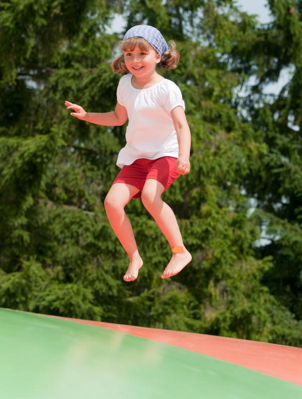 Having a trampoline on the property may cause an increase in insurance rates.