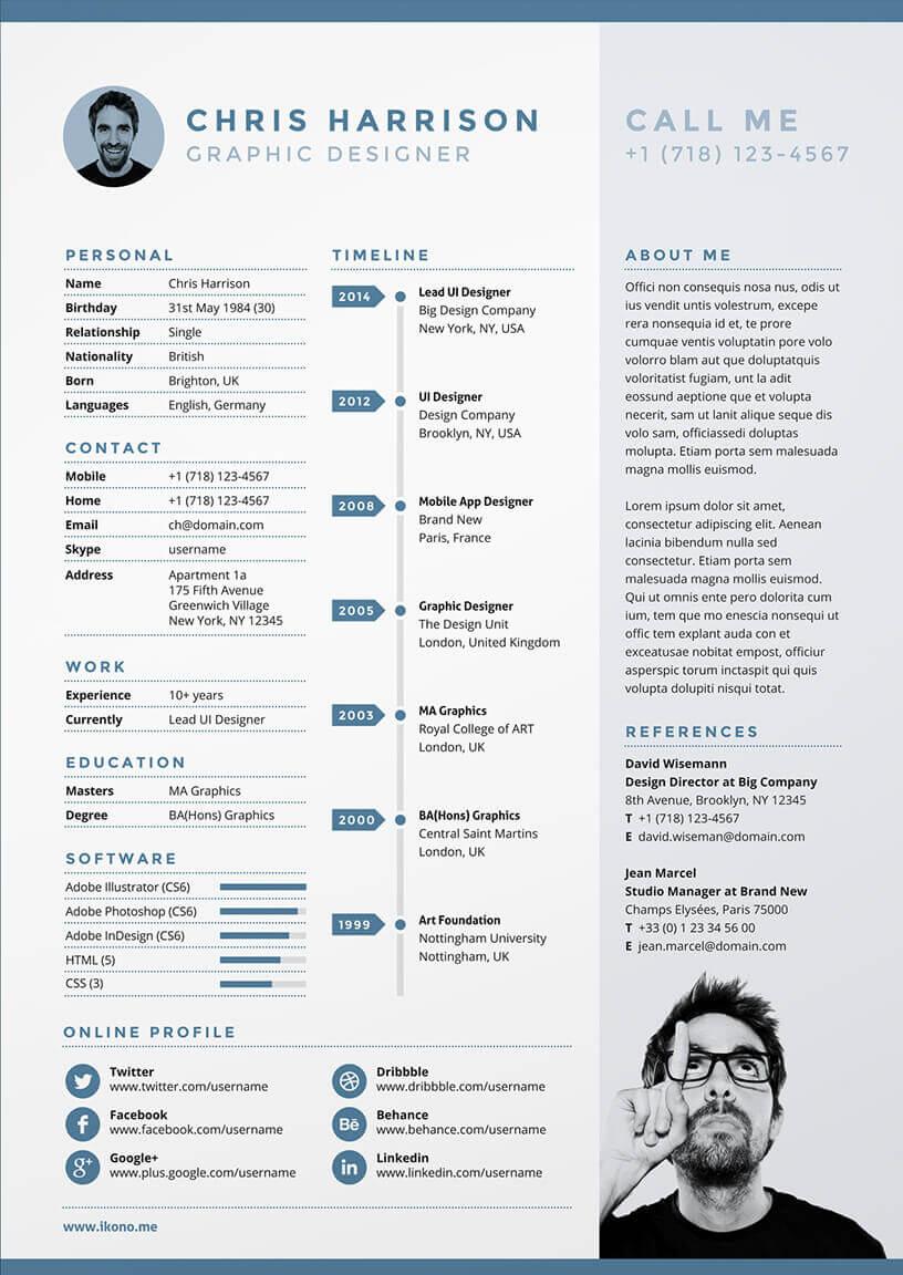 10 CV créatifs pour inspirer ta recherche d'emploi en 2017