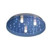LED Deckenleuchte, Sternenhimmel, Fernbedienung, Ø50cm ...