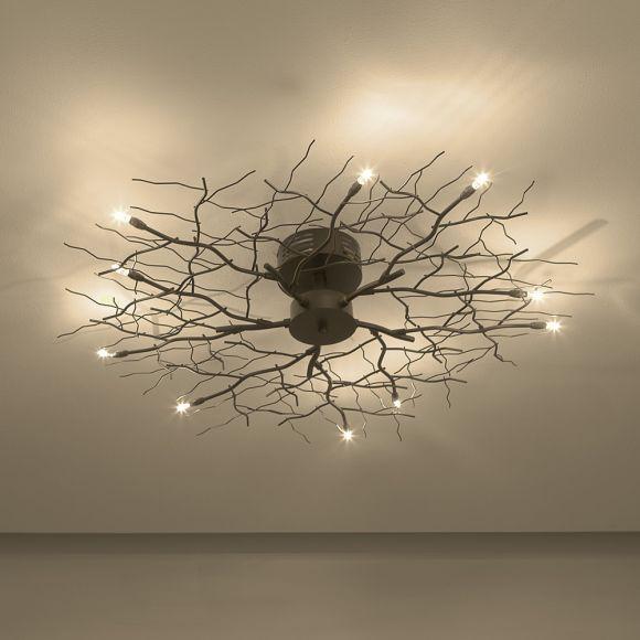 Wohnzimmer Lampe Ast