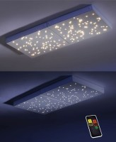 LED Panel, Deckenleuchte, Sternenhimmel, Fernbedienung ...
