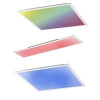 LED Panel Deckenleuchte mit Fernbedienung Farbe & reines ...