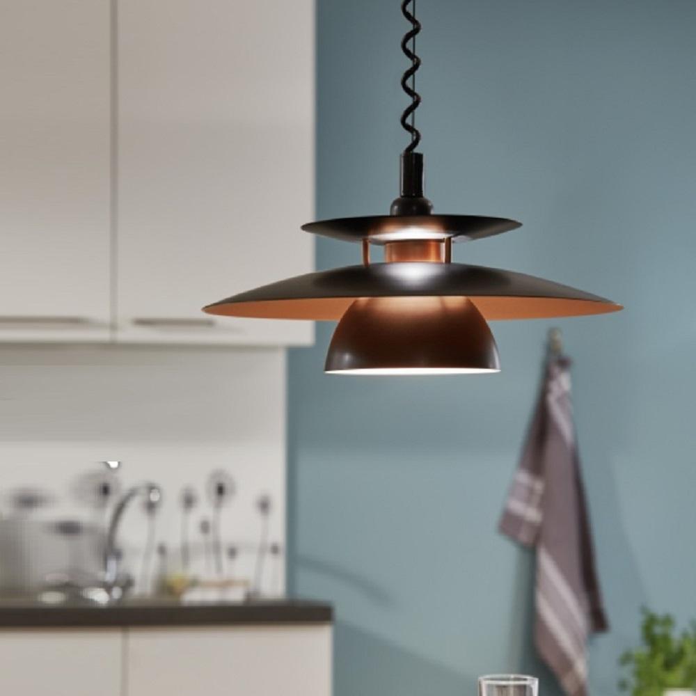 Pendelleuchte Küche Höhenverstellbar  Eglo Led Pendelleuchte