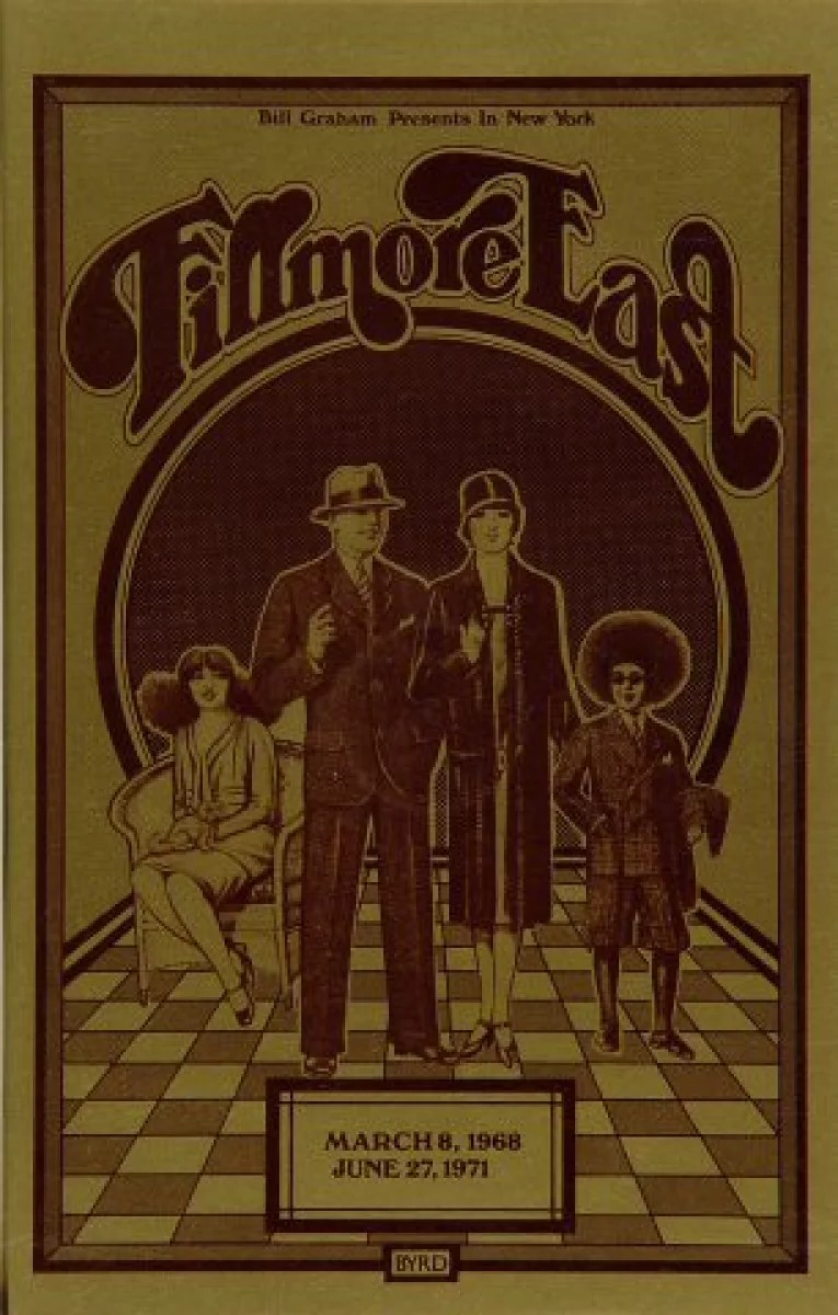 the allman brothers band vintage concert program from fillmore east jun 27 1971 at wolfgang s