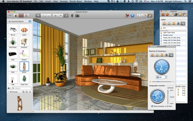 Interior design software mac free for Wohnung design programm mac