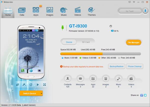 Top 5 Android Backup Software