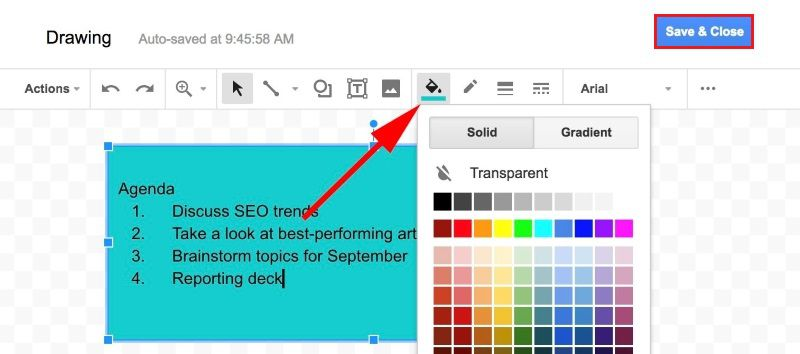 How to Add Text Box in Google Docs