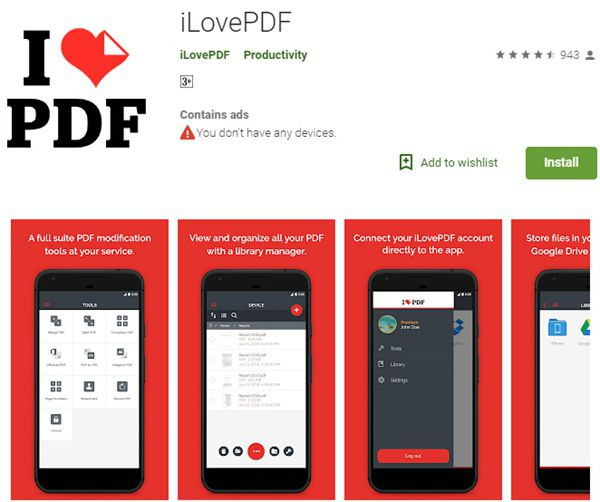 Best PDF to Excel App on Android