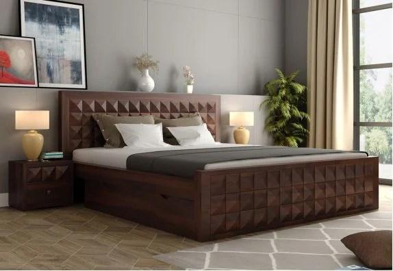 Bed Design 101+ Latest Wooden Bed Designs for Bedroom   2021 Designer Beds Best Prices