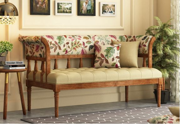 buy wooden benches online in india at