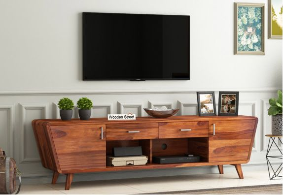 Tv Unit Buy Wooden Tv Units Tv Stand In India Upto 55 Off Woodenstreet