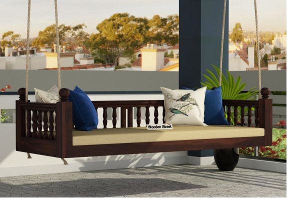 Swing Chair Upto 70 Off Buy Wooden Jhula Online In India Wooden Street