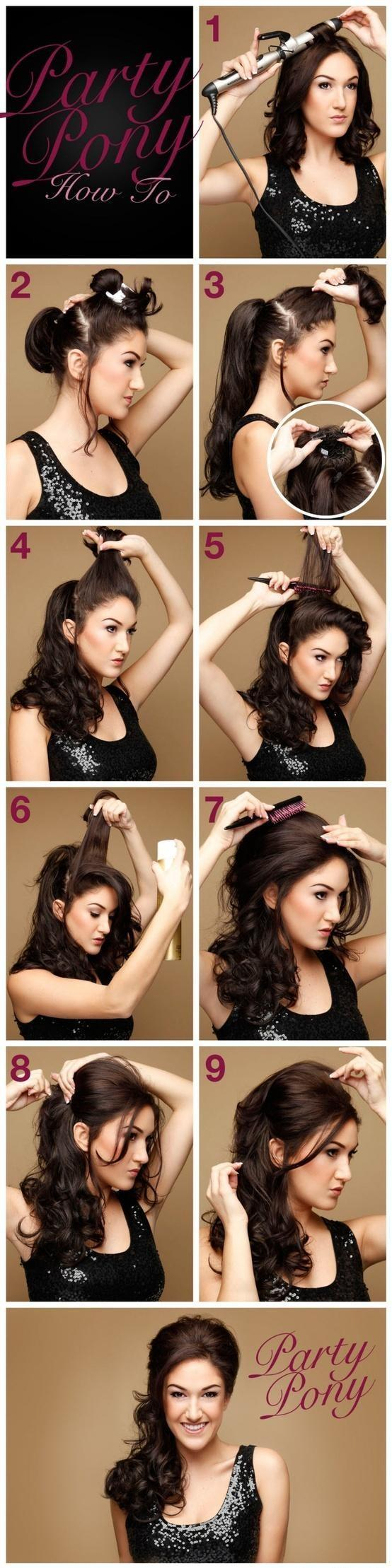 More Hairstyles You Can Do At Home Hidden Scrunchy Guff