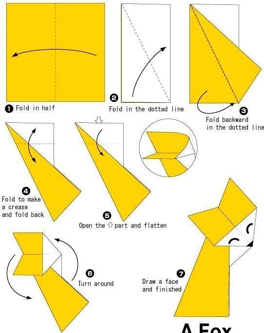 4500 Cara Membuat Gambar Hewan Dari Kertas Origami Terbaru