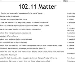 102.11 Matter Worksheet - WordMint [ 737 x 1121 Pixel ]