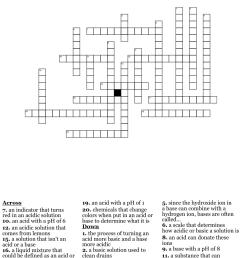 Acids and Bases Crossword - WordMint [ 1149 x 1121 Pixel ]