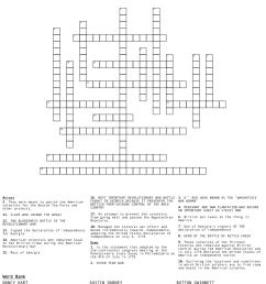 American Revolution Crossword Puzzle - WordMint [ 1406 x 1121 Pixel ]