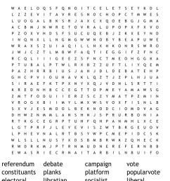 Election Word Search - WordMint [ 850 x 1121 Pixel ]