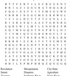 Ancient Mesopotamia Crossword - WordMint [ 932 x 1121 Pixel ]