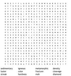 Rocks and minerals Word Search - WordMint [ 930 x 1121 Pixel ]