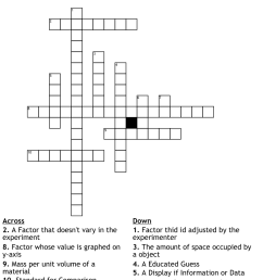Science 7th Grade Crossword Puzzle - WordMint [ 935 x 1121 Pixel ]