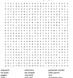 Science Crosswords [ 950 x 1121 Pixel ]