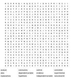 Science Crosswords [ 930 x 1121 Pixel ]