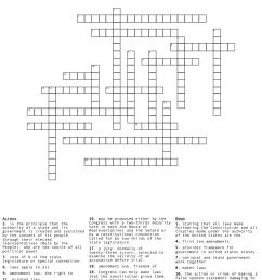 CLASS 8 The Constitution of India Crossword - WordMint [ 1387 x 1121 Pixel ]
