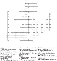 Weather Crosswords [ 1112 x 1121 Pixel ]