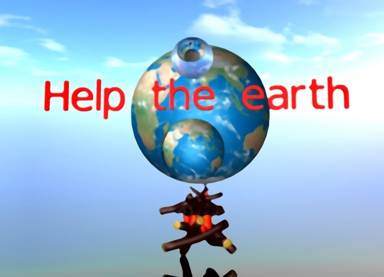 Help The Earth By Revolution On Wordseye