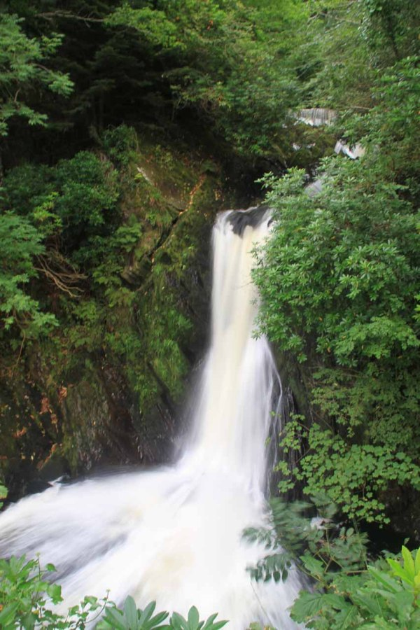 Mynach Falls Devil' Bridge - World Of Waterfalls