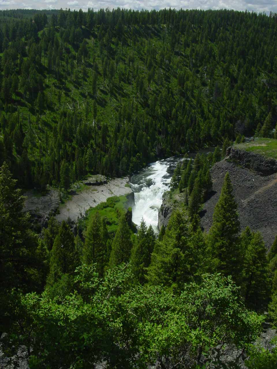 Lower Mesa Falls  World of Waterfalls